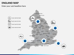 England map PPT slide 4