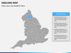 England map PPT slide 8