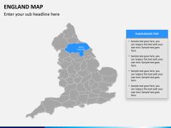 England map PPT slide 9