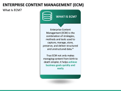 Enterprise Content Management (ECM) PPT slide 20