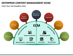 Enterprise Content Management (ECM) PPT slide 22