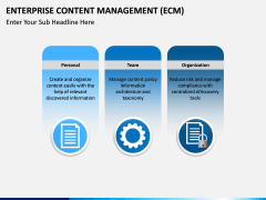 Enterprise Content Management (ECM) PPT slide 12