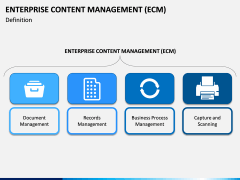 Enterprise Content Management (ECM) PPT slide 2