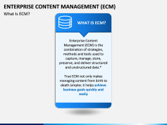 Enterprise Content Management (ECM) PPT slide 3