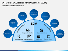 Enterprise Content Management (ECM) PPT slide 5