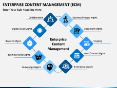 Enterprise Content Management (ECM) PPT slide 6