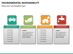 Environmental responsibility PPT slide 12