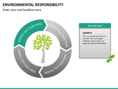Environmental responsibility PPT slide 15