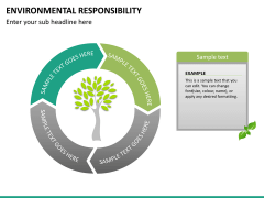 Environmental responsibility PPT slide 16