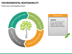 Environmental responsibility PPT slide 17