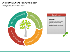 Environmental responsibility PPT slide 18