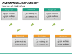 Environmental responsibility PPT slide 19