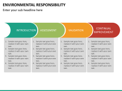Environmental responsibility PPT slide 20