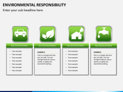 Environmental responsibility PPT slide 1