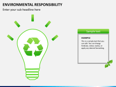 Environmental responsibility PPT slide 11