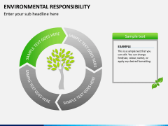 Environmental responsibility PPT slide 4