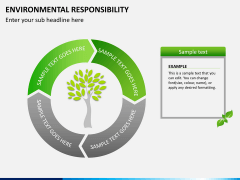 Environmental responsibility PPT slide 5