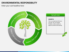 Environmental responsibility PPT slide 6