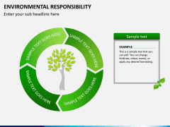 Environmental responsibility PPT slide 7
