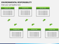 Environmental responsibility PPT slide 8