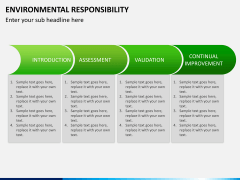 Environmental responsibility PPT slide 9