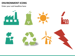 Environment icons PPT slide 9