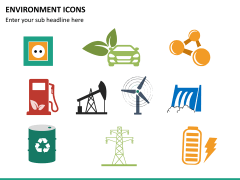 Environment icons PPT slide 10