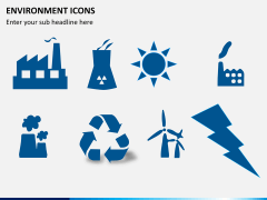 Environment icons PPT slide 4