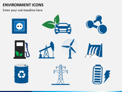 Environment icons PPT slide 5