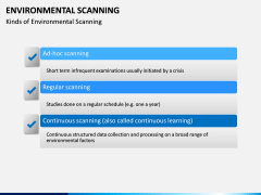 Environmental scanning PPT slide 18