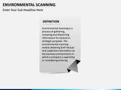 Environmental scanning PPT slide 2