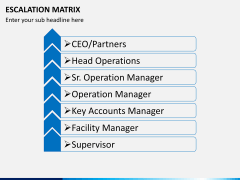 Escalation matrix PPT slide 2