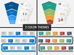 Events diagram PPT cover slide
