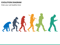 Evolution diagram PPT slide 15