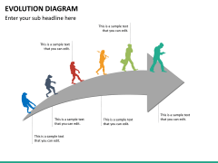Evolution diagram PPT slide 24