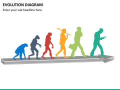 Evolution diagram PPT slide 16