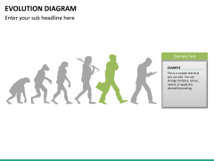 Evolution diagram PPT slide 22