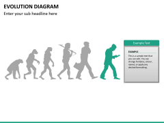 Evolution diagram PPT slide 23