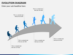 Evolution diagram PPT slide 10