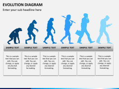 Evolution diagram PPT slide 12