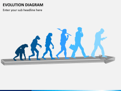 Evolution diagram PPT slide 2