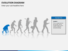 Evolution diagram PPT slide 4