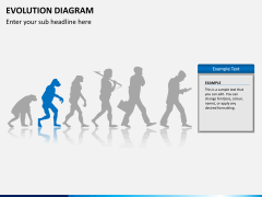Evolution diagram PPT slide 5