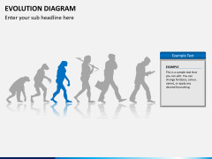 Evolution diagram PPT slide 6