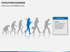 Evolution diagram PPT slide 7