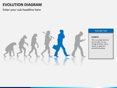 Evolution diagram PPT slide 8