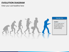 Evolution diagram PPT slide 9