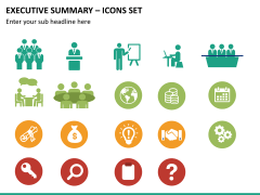 Executive summary PPT slide 24