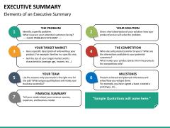 Executive summary PPT slide 14