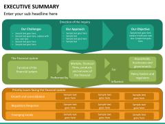 Executive summary PPT slide 20